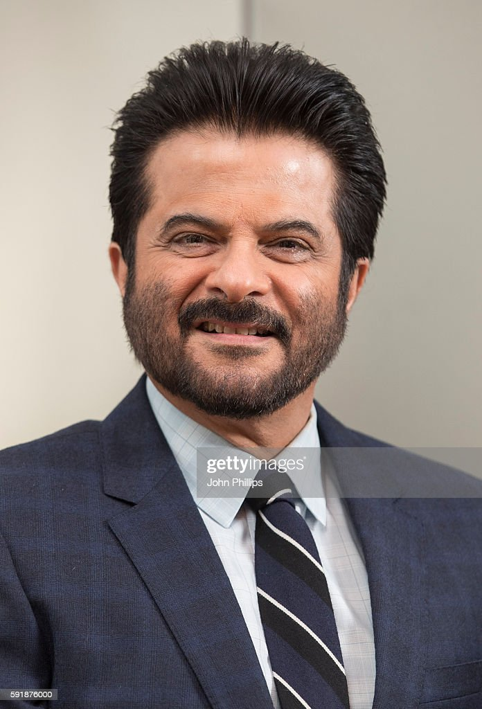 Photocall And Press Conference With Actor Anil Kapoor From TV Series '24'