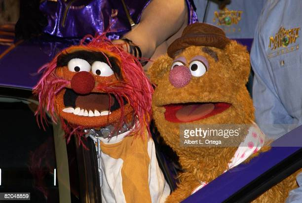 Animal and Fozzie Bear celebration of 'The Muppet Show''s 25th anniversary Action Performance Companies Inc The Jim Henson Company and NASCAR drivers...