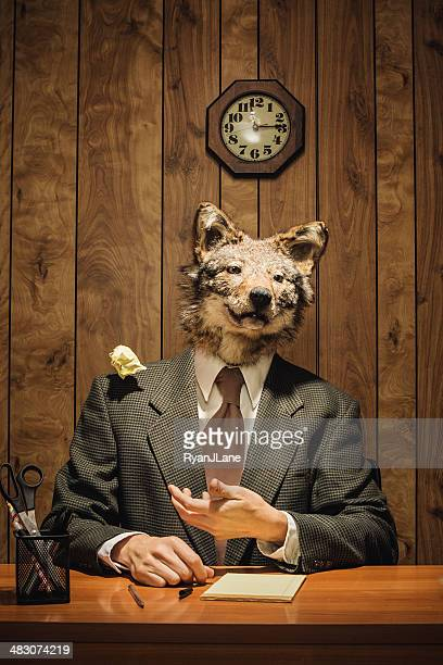 Animal Business Wolf Boss