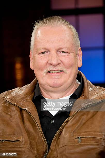 Animal chiropractor Tamme Hanken attends the 'Koelner Treff' TV Show at the WDR Studio on May 23 2014 in Cologne Germany