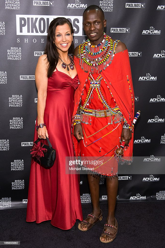 Animal Fair founder <a gi-track='captionPersonalityLinkClicked' href=/galleries/search?phrase=Wendy+Diamond&family=editorial&specificpeople=663985 ng-click='$event.stopPropagation()'>Wendy Diamond</a> (L) and William Kikanae attend the 2013 Pikolinos Gala Dinner at the United Nations on April 17, 2013 in New York City.