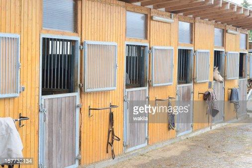 animal pen - Stallungen