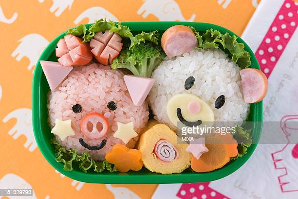 Animal-shaped Character Bento