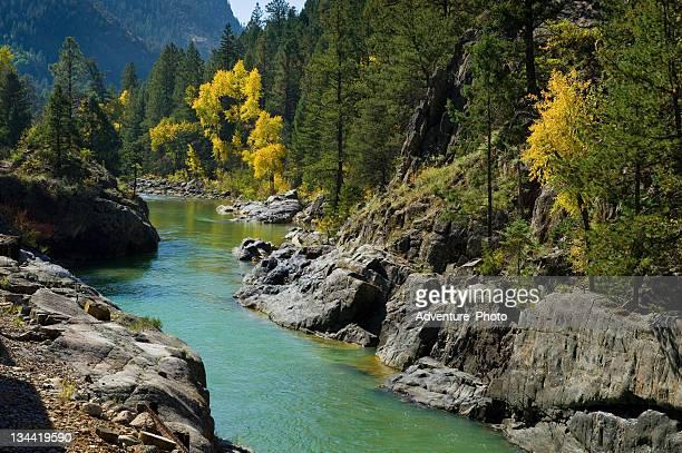 Animas River Fall in Canyon
