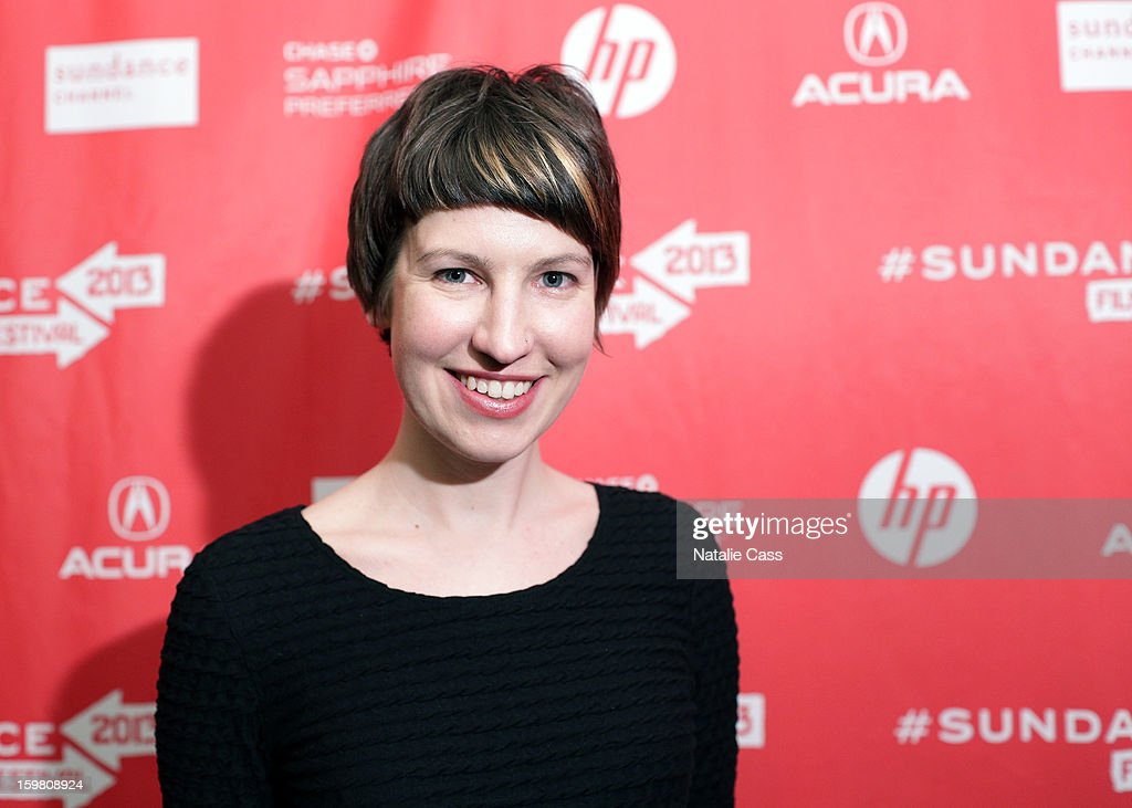 Animation Director Em Cooper attends the '99% - The Occupy Wall Street Collaborative Film' premiere at Egyptian Theatre during the 2013 Sundance Film Festival on January 20, 2013 in Park City, Utah.