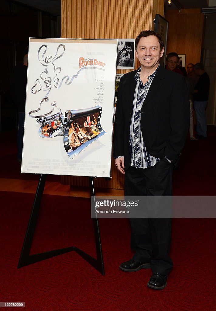 Animator Andreas Deja arrives at The Academy Of Motion Picture Arts And Sciences' 25th Anniversary Screening Of 'Who Framed Roger Rabbit' at AMPAS Samuel Goldwyn Theater on April 4, 2013 in Beverly Hills, California.