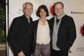 Animator Chris Sanders producer Kristine Belson and screenwriter Kirk DeMicco attend TheWrap's 5th Annual Oscar Party at Culina Restaurant at the...
