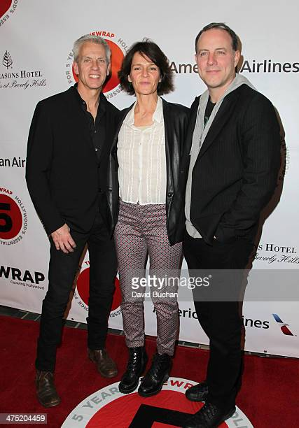 Animator Chris Sanders producer Kristine Belson and screenwriter Kirk DeMicco attends TheWrap's 5th Annual Oscar Party at Culina Restaurant at the...