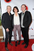 Animator Chris Sanders producer Kristine Belson and screenwriter Kirk DeMicco attend TheWrapcom annual PreOscar party at Culina Restaurant at the...