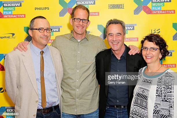 Animator Eben Ostby director Pete Docter producer Jim Morris and producer Galyn Susman attend Infinity And Beyond Pixar And 20 Years Since 'Toy...