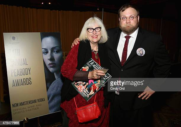 Animator Pendleton Ward attends The 74th Annual Peabody Awards Ceremony at Cipriani Wall Street on May 31 2015 in New York City
