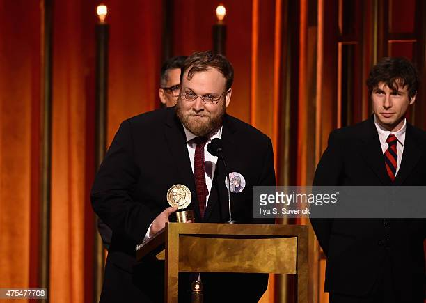 Animator Pendleton Ward speaks onstage at The 74th Annual Peabody Awards Ceremony at Cipriani Wall Street on May 31 2015 in New York City