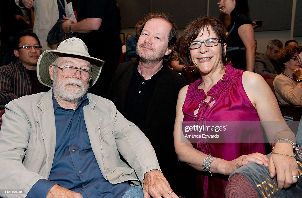 Animators Dan McLaughlin, Chuck Sheetz and Celia Mercer attend the UCLA Animation Workshop Festival of Animation at the James Bridges Theater at Melnitz Hall on the UCLA campus on June 4, 2011 in Los Angeles, California.
