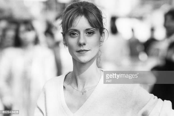 L'animatrice Dorothée le 13 avril 1981 France