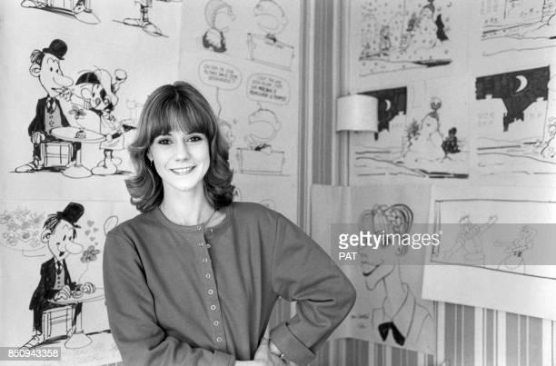 L'animatrice Dorothée le 19 mars 1982 à Paris France