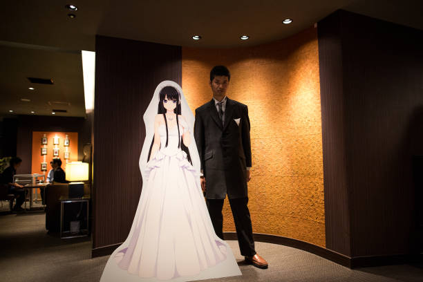 Vr 360 Wedding Ceremony: Anime Fans Marry Their VR Anime Girl Crushes Photos And