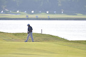 Anirban Lahiri of India during round four of the Thailand Golf Championship at Amata Spring Country Club on December 14 2014 in Chon Buri Thailand