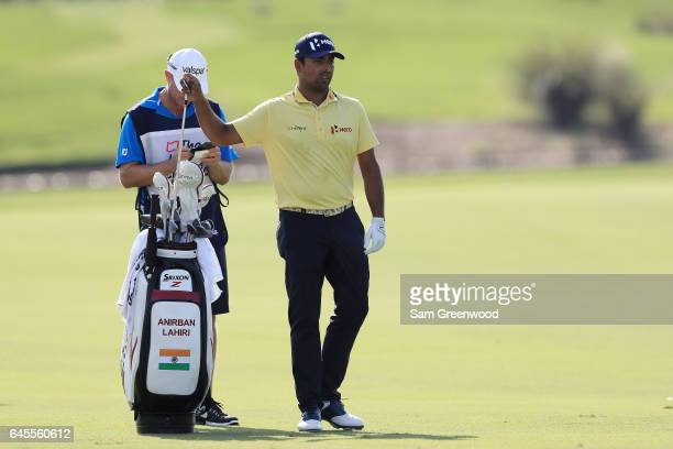 Anirban Lahiri of India during the third round of The Honda Classic at PGA National Resort and Spa on February 25 2017 in Palm Beach Gardens Florida