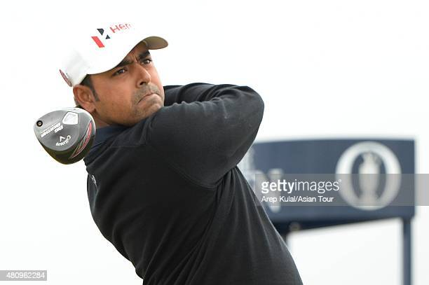 Anirban Lahiri of India pictured during the round one of The 144th Open Championship at The Old Course on July 16 2015 in St Andrews Scotland