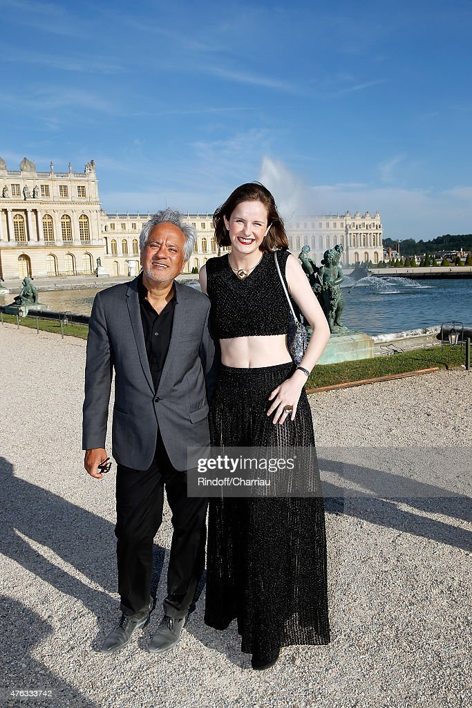 <a gi-track='captionPersonalityLinkClicked' href=/galleries/search?phrase=Anish+Kapoor&family=editorial&specificpeople=3965986 ng-click='$event.stopPropagation()'>Anish Kapoor</a> and his wife Sophie Walker attends the Grand Opening <a gi-track='captionPersonalityLinkClicked' href=/galleries/search?phrase=Anish+Kapoor&family=editorial&specificpeople=3965986 ng-click='$event.stopPropagation()'>Anish Kapoor</a>'s Exhibition at Chateau de Versailles on June 7, 2015 in Versailles, France.
