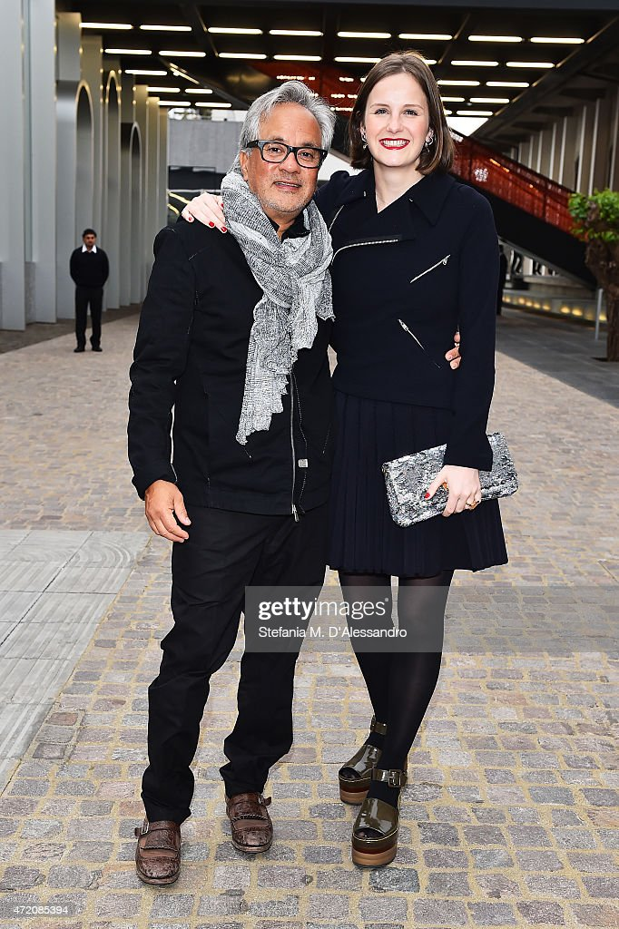 <a gi-track='captionPersonalityLinkClicked' href=/galleries/search?phrase=Anish+Kapoor&family=editorial&specificpeople=3965986 ng-click='$event.stopPropagation()'>Anish Kapoor</a> and Sophie Walker attend the Fondazione Prada Opening on May 3, 2015 in Milan, Italy.