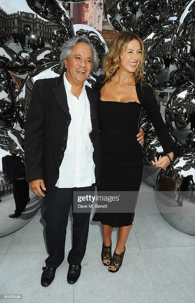 anish kapoor private view getty images