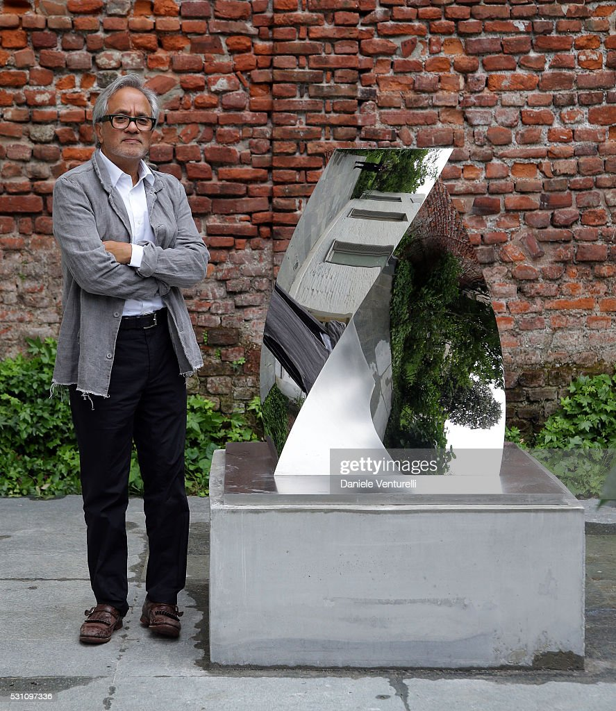 <a gi-track='captionPersonalityLinkClicked' href=/galleries/search?phrase=Anish+Kapoor&family=editorial&specificpeople=3965986 ng-click='$event.stopPropagation()'>Anish Kapoor</a> attends <a gi-track='captionPersonalityLinkClicked' href=/galleries/search?phrase=Anish+Kapoor&family=editorial&specificpeople=3965986 ng-click='$event.stopPropagation()'>Anish Kapoor</a> preview at Lisson Gallery Milan on May 12, 2016 in Milan, .