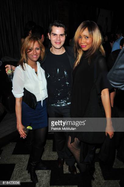 Anisha Lakhani David Foote and Tia Walker attend American Red Cross Concern Worldwide and The Edeyo Foundation Fundraiser at 1 OAK on January 21 2010...