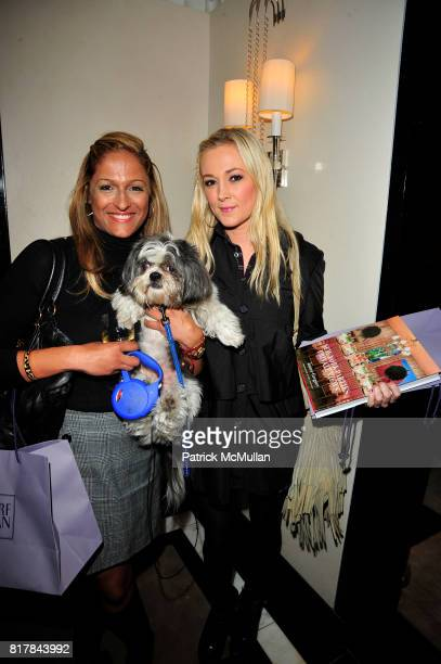 Anisha Lakhani Harold Moskowitz and Dabney Mercer attend 'New York Parties Private Views' by Jamee Gregory at Bergdorf Goodman on October 13 2010 in...