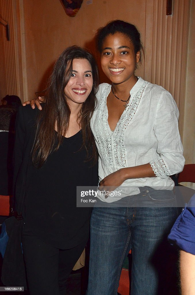 Anissa Allali and Ines Prisca attend the 'Speakeasy' Party At The Lefty Bar Restaurant on May 6, 2013 in Paris, France.