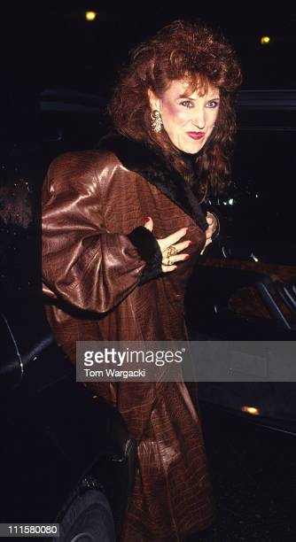 Anita Dobson during Anita Dobson at the First Night Party for the Musical 'Eurovision' in London Great Britain