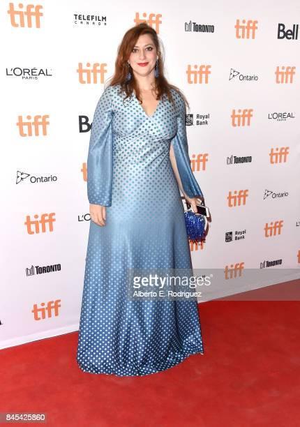 Anita Doron attends 'The Breadwinner' premiere during the 2017 Toronto International Film Festival at Winter Garden Theatre on September 10 2017 in...