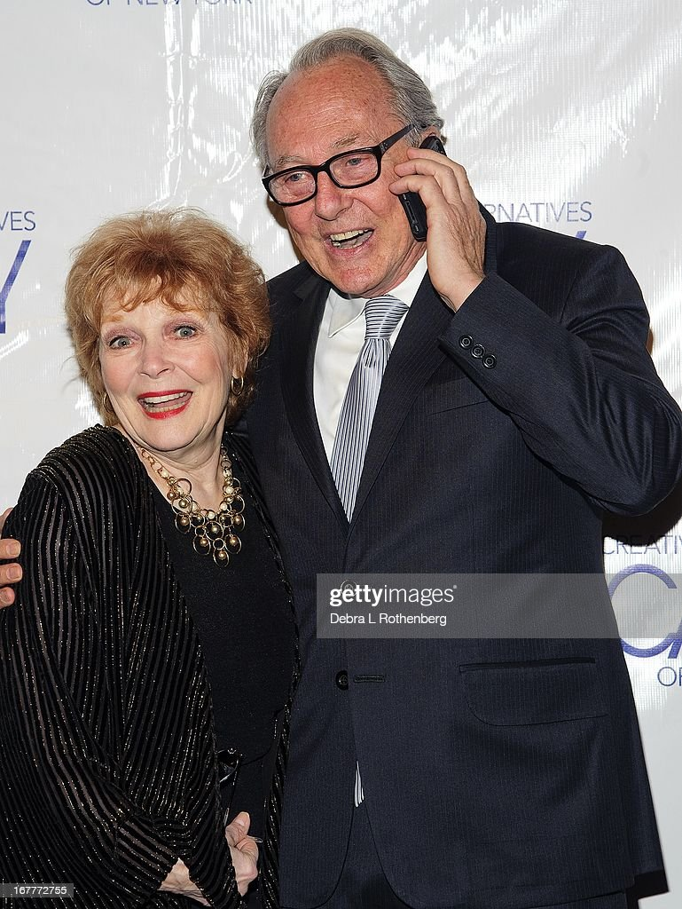 Anita Gillette and Jonathan Hilton attend The Pearl Gala 2013 at The Edison Ballroom on April 29, 2013 in New York City.