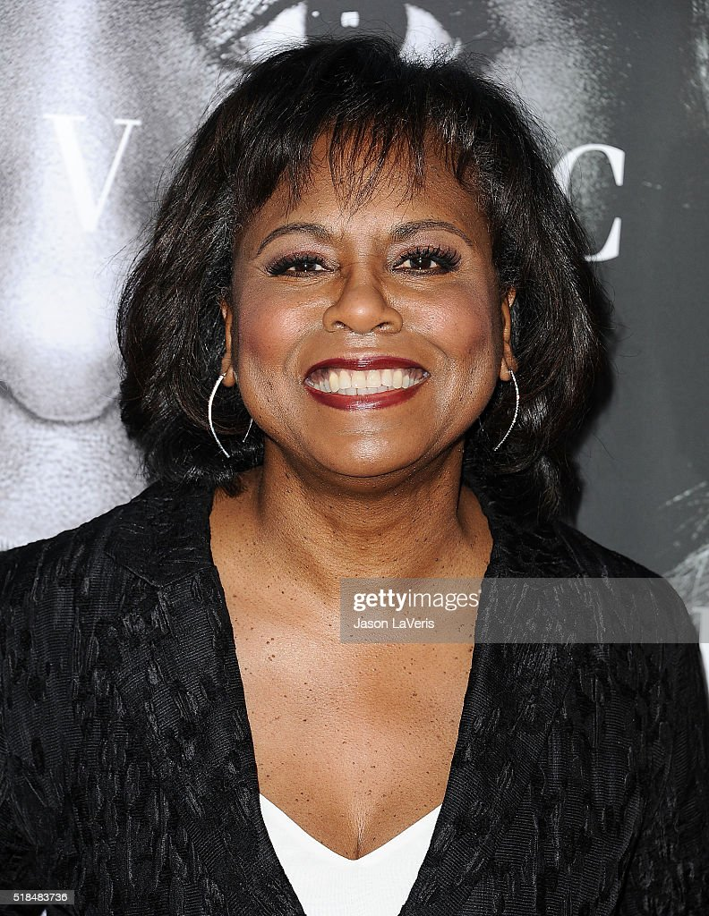 Anita Hill attends the premiere of 'Confirmation' at Paramount Theater on the Paramount Studios lot on March 31 2016 in Hollywood California