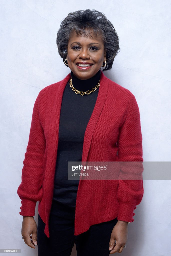 Anita Hill poses for a portrait during the 2013 Sundance Film Festival at the WireImage Portrait Studio at Village At The Lift on January 18, 2013 in Park City, Utah.