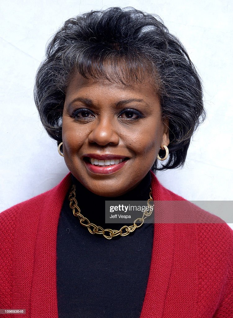 <a gi-track='captionPersonalityLinkClicked' href=/galleries/search?phrase=Anita+Hill&family=editorial&specificpeople=655733 ng-click='$event.stopPropagation()'>Anita Hill</a> poses for a portrait during the 2013 Sundance Film Festival at the WireImage Portrait Studio at Village At The Lift on January 18, 2013 in Park City, Utah.