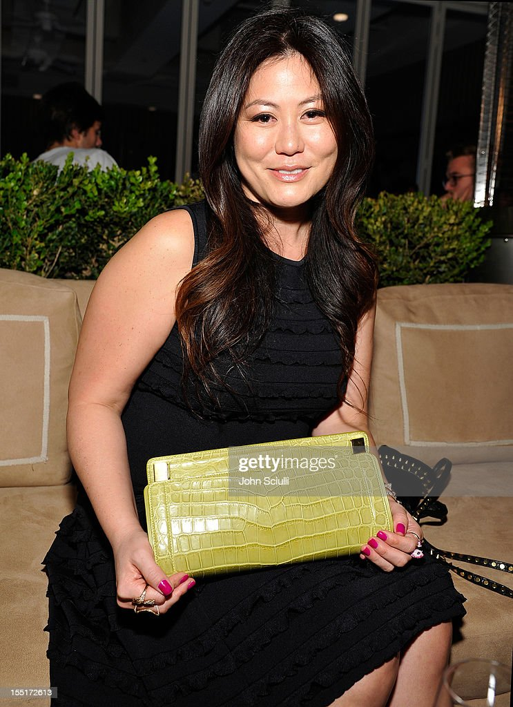 Anita Ko attends a dinner hosted by Ali Larter celebrating the Devi Kroell Spring Summer 2013 Collection at Sunset Tower on November 1, 2012 in West Hollywood, California.