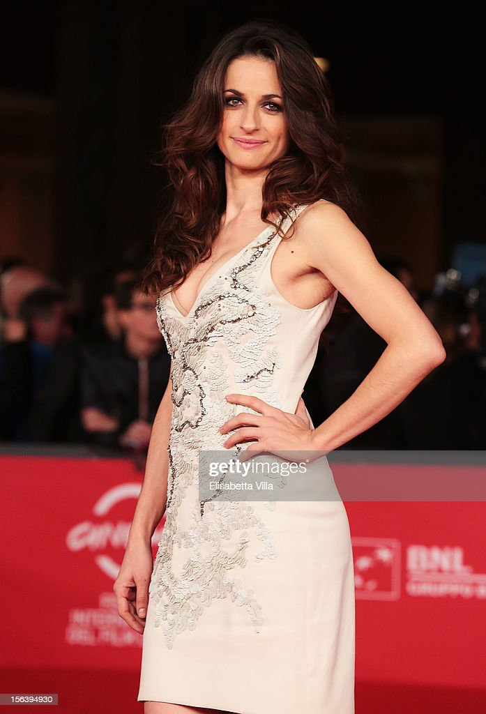 Anita Kravos attends the 'E La Chiamano Estate' Premiere during the 7th Rome Film Festival at the Auditorium Parco Della Musica on November 14, 2012 in Rome, Italy.