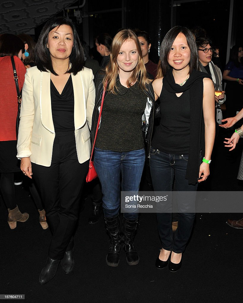 Anita Lee, Sarah Polley and Iris Ng attend Canada's Top Ten Announcement/Press Conference at TIFF Bell Lightbox on December 4, 2012 in Toronto, Canada.