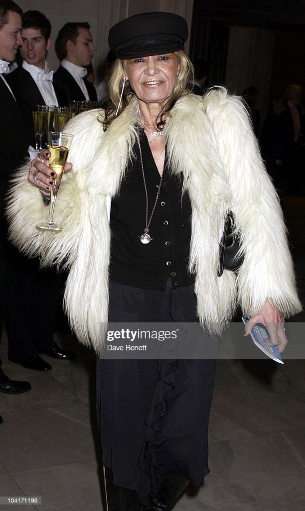 Anita Pallenberg, Fashion Photographer Mario Testino Attracted All The Most Glamorous Women In London To His Exhibition At The National Portrait Gallery.