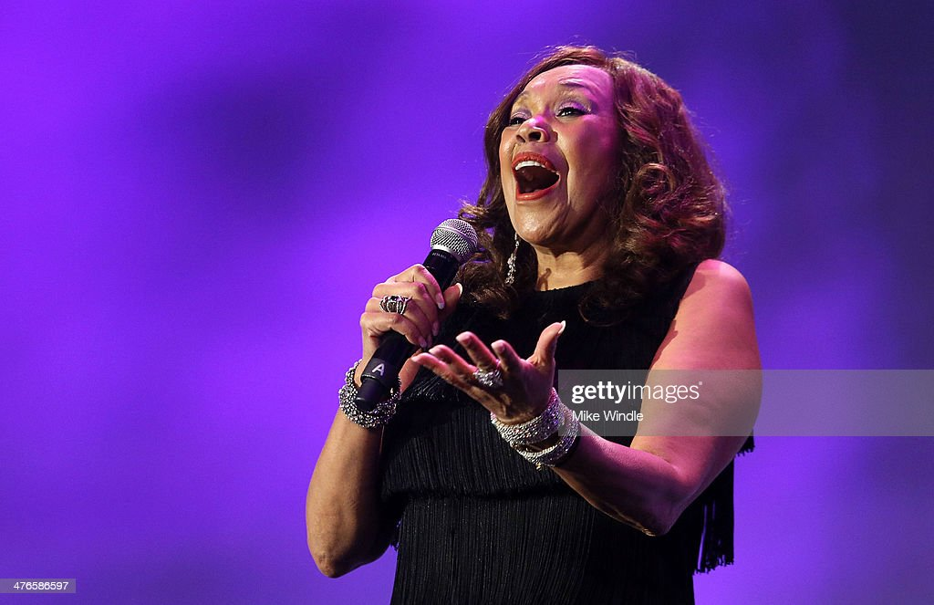 Anita Pointer of the Pointer Sisters performs onstage at the Venice Family Clinic's 32nd Annual Silver Circle Gala held at The Beverly Hilton Hotel on March 3, 2014 in Beverly Hills, California.