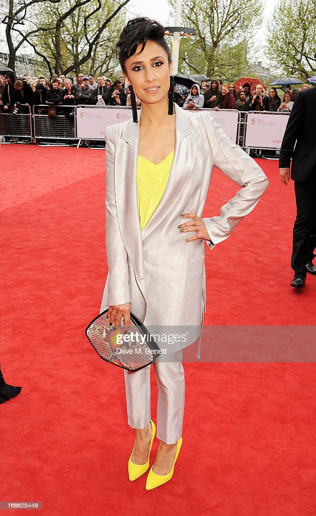 Anita Rani attends the Arqiva British Academy Television Awards 2013 at the Royal Festival Hall on May 12, 2013 in London, England.