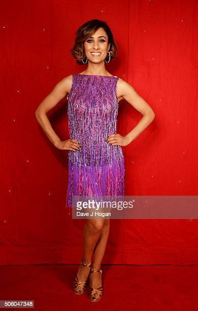 Anita Rani backstage at the Strictly Come Dancing Live Tour rehearsals Strictly Come Dancing Live Tour opens tomorrow 22nd January at the Barclaycard...