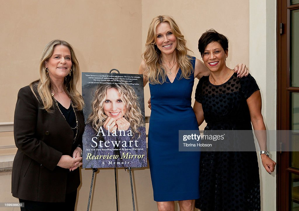 Anita Swift Alana Stewart and Shawn Holley attend the John Wayne Cancer Institute Auxiliary Luncheon hosts Alana Stewart book signing and discussion...