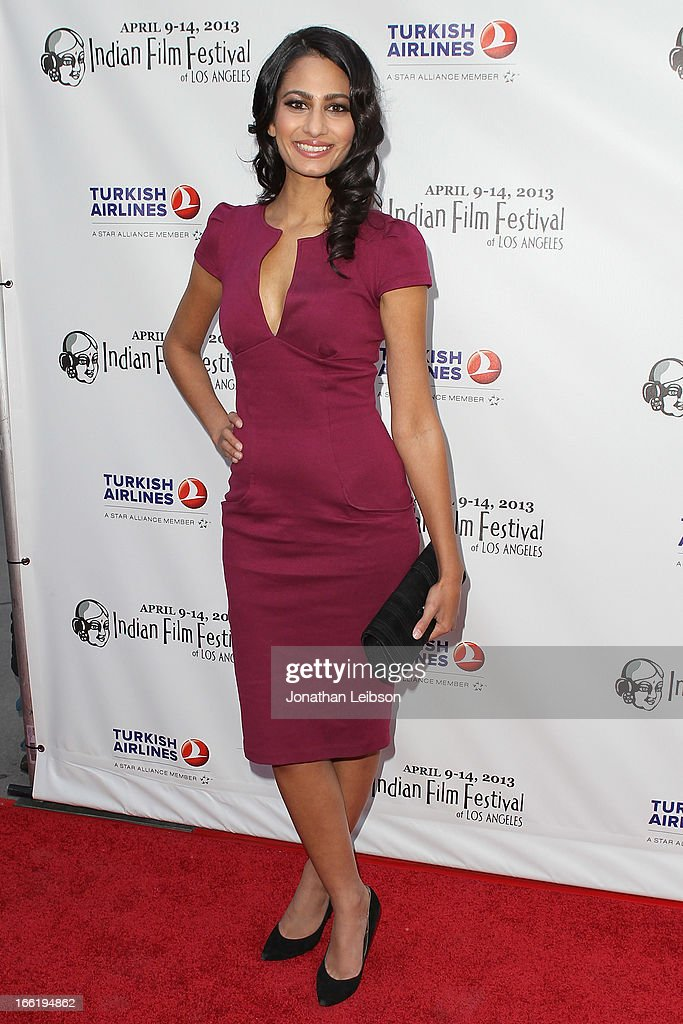 Anita Vora attends the 11th Annual Indian Film Festival Of Los Angeles - Opening Night Gala for 'Gangs Of Wasseypur' at ArcLight Hollywood on April 9, 2013 in Hollywood, California.