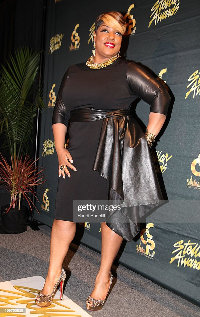 Anita Wilson attends the 28th Annual Stellar Awards Press Room at Grand Ole Opry House on January 19, 2013 in Nashville, Tennessee.