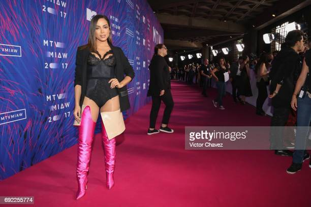 Anitta attends the MTV MIAW Awards 2017 at Palacio de Los Deportes on June 3 2017 in Mexico City Mexico