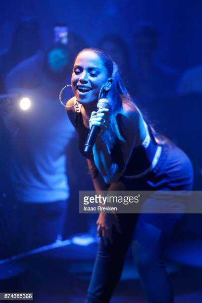 Anitta performs onstage at Spotify Celebrates Latin Music and Their Viva Latino Playlist at Marquee Nightclub on November 14 2017 in Las Vegas Nevada