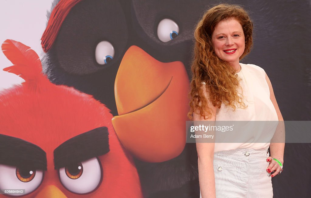 Anja Antonivich attends the premiere of 'Angry Birds - Der Film' on May 01, 2016 in Berlin, Berlin.