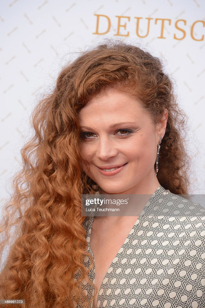 Anja Antonowicz attends the Lola - German Film Award 2014 at Tempodrom on May 9, 2014 in Berlin, Germany